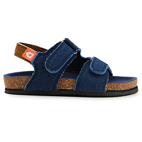 322ddceb5ecd9 Image of Oomphies Baby Boys - Nolan Sports Sandal - Blue - 5C