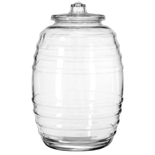 glass barrel jar - 2