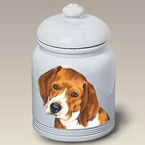 Amazon.com: Beagle Dog Cookie Jar by Barbara Van Vliet