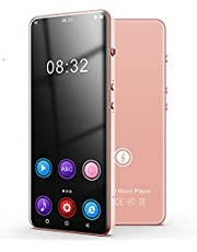 with WiFi Bluetooth 5.0MP3 Player, High-Definition Touch Screen HiFi Lossless Music Player, TF Can Expand 256G Large Battery,Gold