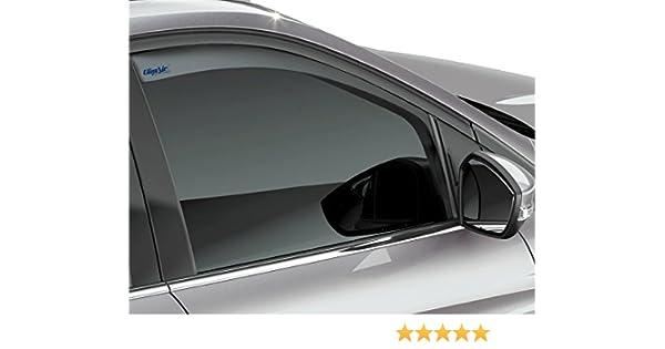 negro 2170146 Deflectores de viento delanteros para Ford Kuga 2012  Climair