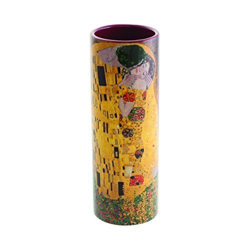 18cm Ceramic Vase - Gustav Klimt - The Kiss by Parastone Museum Collection