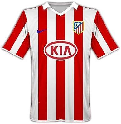 Nike 2010 – 11 Atlético Madrid Hogar Camiseta de fútbol: Amazon.es: Deportes y aire libre