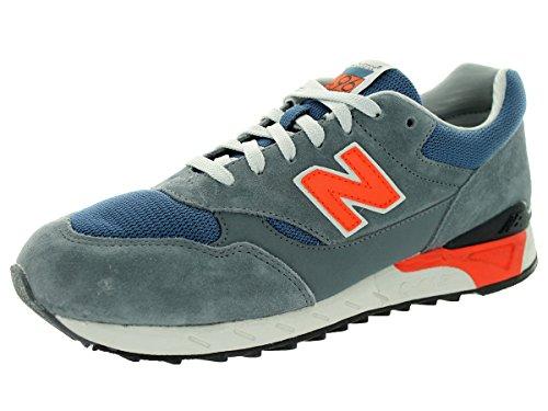 New Balance Mens CM496CS Running Shoe Grey / Navy / Orange