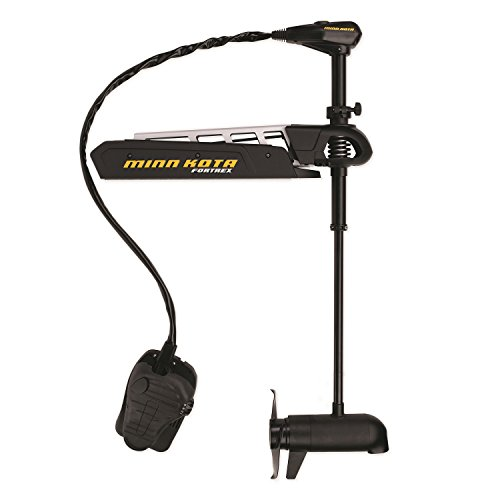 Minn Kota Fortrex 112/US2 Motor with 45-Inch Shaft and 112-Pound Thrust, Black