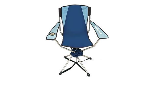 Kelsyus - Silla Plegable de Tela para Exterior, Color Azul ...