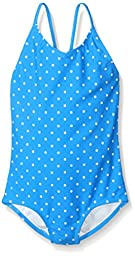 Kanu Surf Little Girls Chloe One Piece Swimsuit,Royal,5