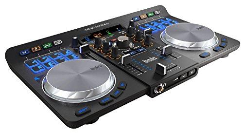 Hercules 4780773 Universal DJ Controller mit 2 Decks und 3 Modi schwarz