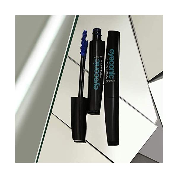 Lakme Eyeconic Curling Mascara, Black, 9 ml 2021 August Gives volume to your lashes every day Light and easy to remove, its moisturizer keeps lashes smooth Smart curl brush