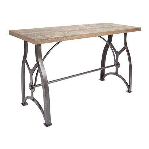 Beckett Industrial Console Table - Brown - Silverwood