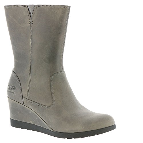UGG Womens Joely Wedge Boot Charcoal Size 7 by UGG