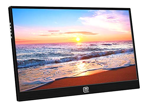 15.6' Full Hd 1920x1080 IPS USB Portable Multi-Touch Monitor,Narrow Bezel&Silm with Hdmi, USB C 3.1 Video Inputs for Laptop Build-in Speakers,HDR,Compatible with Laptop Raspberry Pi Mini PC PS4 Xbox