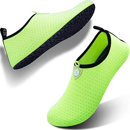 de7e5e88f7c SIMARI Womens and Mens Water Shoes Quick-Dry Aqua Socks Barefoot for Outdoor  Beach Swim Surf Yoga Exercise SWS001 - Buy Online in KSA.