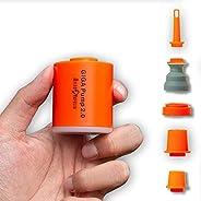 GIGA Pump 2.0 Electric Portable Air Pump 1300mah battery Rechargeable pump Ultra-mini Inflator / Deflator pump