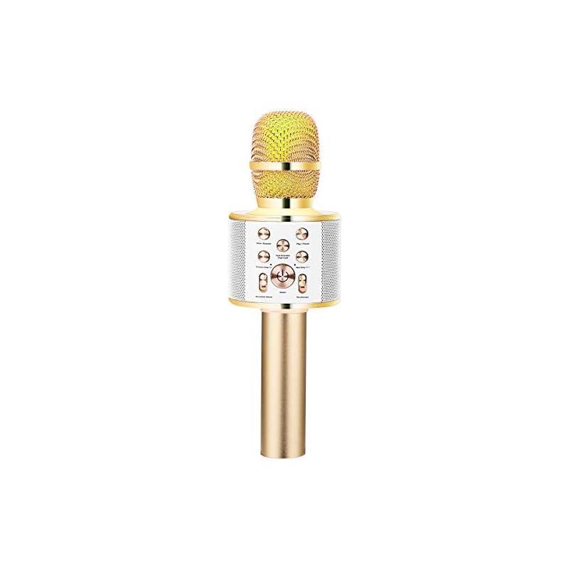 VERKB Wireless Karaoke Microphone Speake