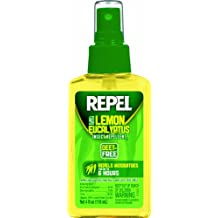 REPEL Lemon Eucalyptus Natural Insect Repellent Pump, 4-oz