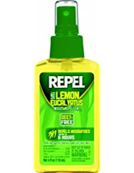 Repel Lemon Eucalyptus Natural Insect Repellent, 4-Ounce Pump...