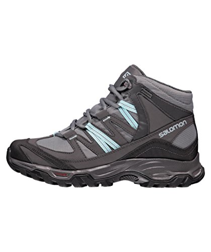 Salomon Ladies Easy Hiking Shoe Mudstone Mid 2 Gtx Shadow (211)