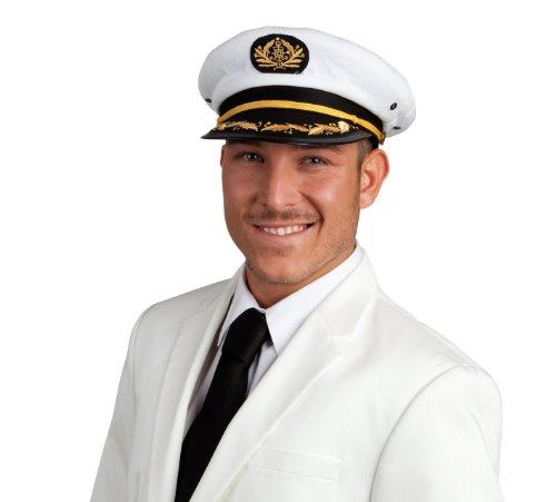 Faschingshut Mütze Marine Captain Jonah Kapitän [Spielzeug]