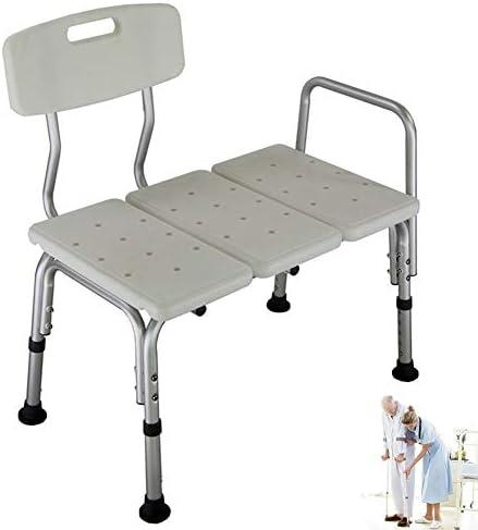 Cacoffay 10 Höhe Einstellbar Dusche Bad Stuhl Sitz Bank 350 Pfund Gewicht Kapazität, Wanne Transfer Bank Zum Alten
