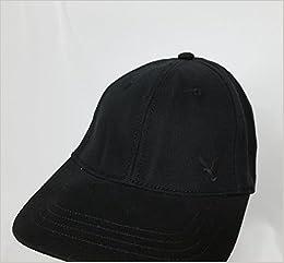99e71ad73933d Amazon.com  American Eagle Outfitters Black w  Small Black Eagle Logo Adult Baseball  Cap S M (3691852234643)  Books