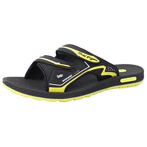 Chaussures De Pigeon Dor Gp7592 Confort Durable Hommes Réglables Sandales De Diapositives Avec Support De Voûte Lite, Supérieure Respirante (taille: Hommes 7-11.5) 8547 Vert