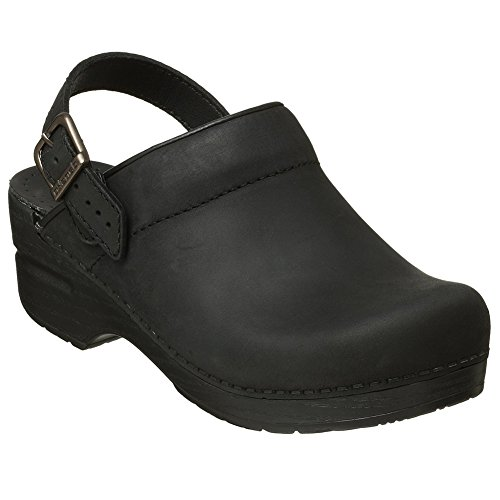 oiled Footwear Dansko Black Ingrid Clogs Women Mules Fashion Shoes Stylish Elegant vvqr0w4