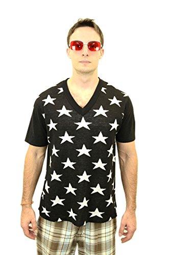 [Fight Club Star Shirt Tyler Durden Pitt Costume (M)] (Fight Club Tyler Durden Costume)
