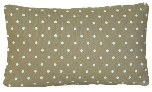 Cottage Shabby Throw - Arcobaleno London White Polka Dots Grey Green Décor Pillow Throw Cover Shabby Chic 16