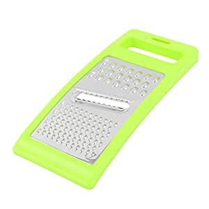uxcell Vegetable Grater Slice Cutter Peeler Multi-function Kitchen Tool Green