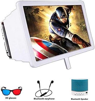 XYHWZY HD Smartphone Lupa con Gafas 3D Multifuncional Amplificador ...