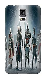 Beauty sincere design tpu skin case cover for Samsung Galaxy s5 of Assassin's Creed in Fashion E-Mall by lolosakes