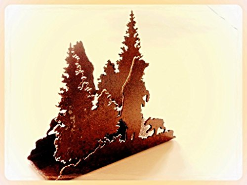 Napkin Holder Rustic Rusted Metal product image