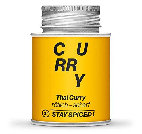 Hochwertiges Thai Curry von STAY SPICED ! Rot-scharf-anregend-einzigartig I In 170 ml Schraubdose
