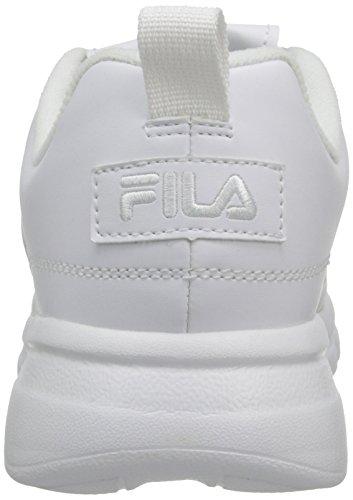 Fila Mens Disruptor Se Training Shoe Triple White