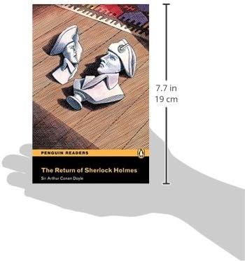 Penguin Readers 3: Return of Sherlock Holmes, The Book & MP3 Pack Pearson English Graded Readers - 9781447925774 Pearson english readers: Amazon.es: Conan, Arthur: Libros en idiomas extranjeros