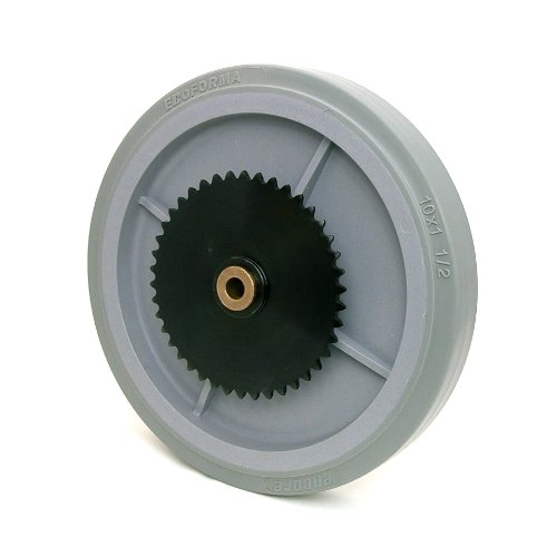 10-inch Drive Wheel with 42-Tooth Sprocket