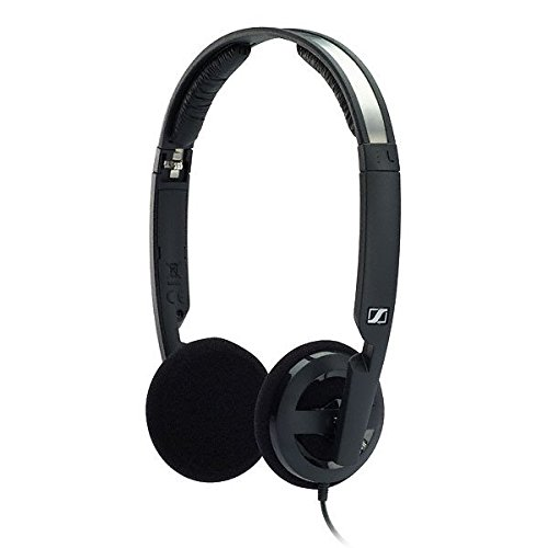 Sennheiser PX 100-II On Ear Miniheadphone (Black) by Sennheiser