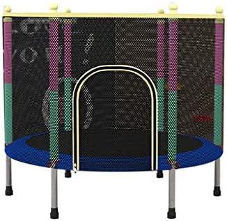 Cheng-trampoline Cama elástica pequeña para niños con Red de ...