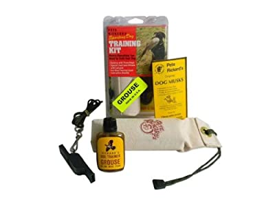 Pete Rickard's Grouse Puppy Training Kit