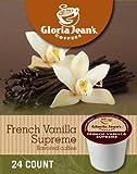 Gloria Jean's French Vanilla Supreme Coffee (4 Boxes of 24 K-Cups)