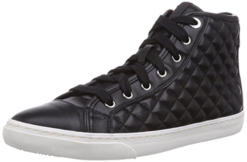 Geox Womens D New Club 24 Sneaker Di Moda Bianco