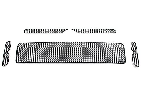 GrillCraft T1855-56B MX Series Grille Upper/Lower Insert Kit Steel Mesh Pattern Black Powder Coat Top Finish MX Series Grille Upper/Lower Insert Kit (Xb Grille Scion Grillcraft)