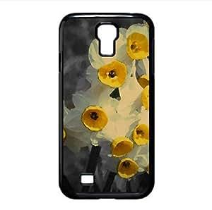Daffodil Watercolor style Cover Samsung Galaxy S4 I9500 Case (Flowers Watercolor style Cover Samsung Galaxy S4 I9500 Case)