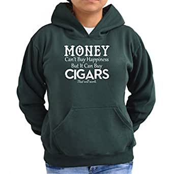 Money Can't Buy Happiness But It Can Buy Cigars Women Hoodie