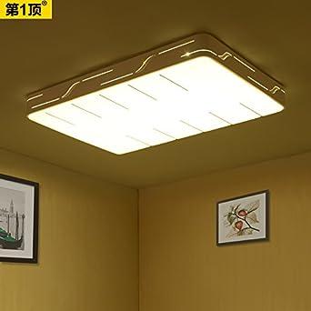 NASEN Moderne Und Minimalistische Wohnzimmer Helle Atmosphre Deckenlampe Eisen Rechteckige LED Lampe Warm Romantischen Restaurant Schlafzimmer