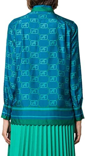 Alberta Ferretti Luxury Fashion Donna A022766451319 Blu Seta Camicia   Autunno-Inverno 20
