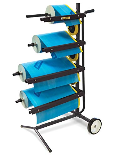Eastwood Mobile Masking Station Tree Type 4 Tier Multi-Roll for Portable System for Masking Film Or Masking Paper