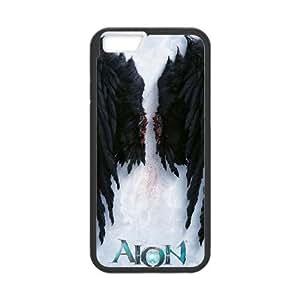 Aion The Tower Of Eternity 33 funda iPhone 6 4.7 Inch caja funda del teléfono celular del teléfono celular negro cubierta de la caja funda EVAXLKNBC30346
