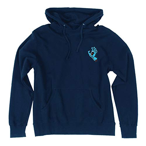 Santa Cruz Screaming Mini Hand Hoodie SM Navy